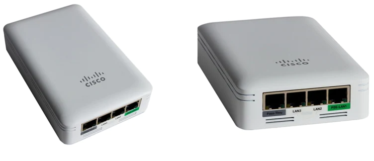 A picture of a wireless access point used.